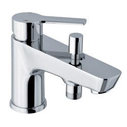 Colonne colonne bain douche soft thermostatique chrome te11051 achat vente ondyna sf18851 - Mitigeur thermostatique monotrou bain douche ...