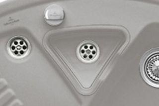 Panier vide-sauce transparent Villeroy & Boch pour évier EV6729