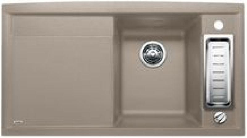 eviers encastrer blancoaxia ii 5 s granit tartufo. Black Bedroom Furniture Sets. Home Design Ideas