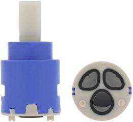 Cartouche HP 25 mm ZOLA-WT KE AV, bleu, Haute pression