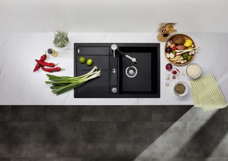 EVIER BLANCO METRA 45S PDUR CAFE AUTO