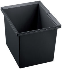 Poubelle SELECT 30 litres, plastique, noir