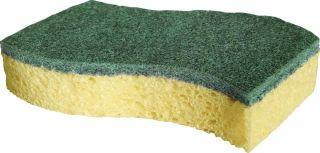 Spontex eponge vert (2 pièces) acier inoxydable