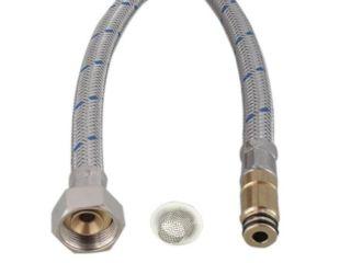 Flexible d'alimentation HP bleu avec joint/tamis 55 cm M10x1 MZ