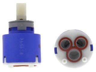 Cartouche BP 35 mm KE, bleu, Bas pression