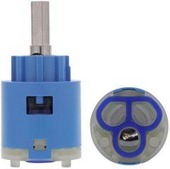 Cartouche HP 25 mm AV KI, bleu, Haute pression