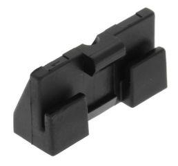 Socle pattes de fixation pour évier àffleurantsocle plastique blanc - le clip en métal (art. 137914) est à commander séparément - pour éviers en acier inoxydable
