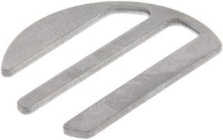 Plaquette acier inox ORION-S, WEGA-S