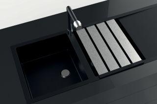 LUISINA - Egouttoir rabattable L480 x l338 mm en aluminium