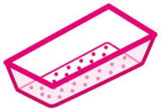LUISINA - Bac vide-sauce transparent pour l'évier 5032G et 5038G
