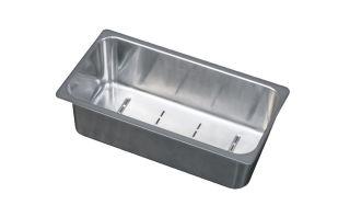 LUISINA - Panier vide-sauce en inox pour l'évier EV 22411LC