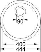 Rotondo - ROG 110-38 Fragranit+ Beige