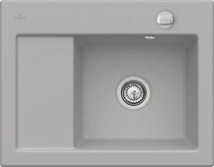 Villeroy & Boch - Subway Compact - Evier à encastrer Villeroy & Boch 1 bac, 1 égouttoir coloris Foss